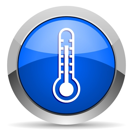 hot temperature: thermometer icon