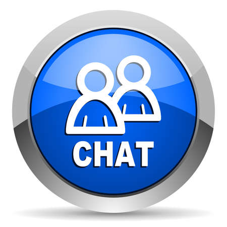 chat icon Stock Photo - 16225813