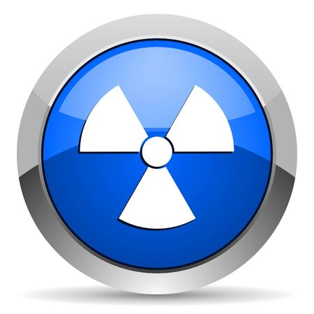radiation icon Stock Photo - 16225546