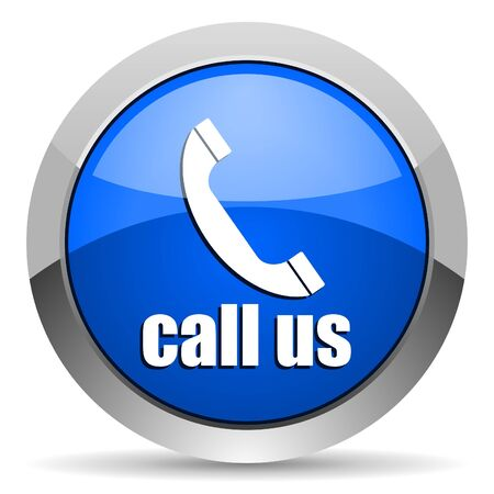 call us icon Stock Photo - 16225705