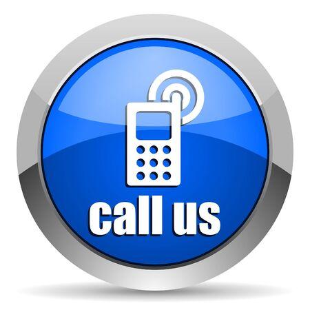 call us icon Stock Photo - 16225750