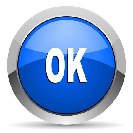 ok icon Stock Photo - 16225527