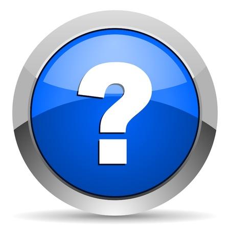 answer question: icona punto interrogativo