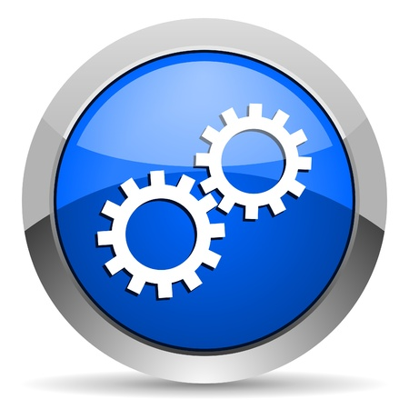 gears icon Stock Photo - 16225749