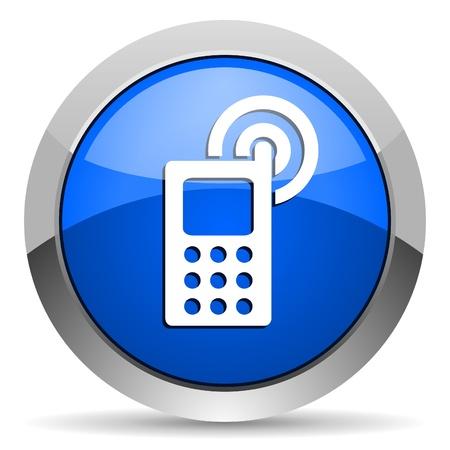 cellphone icon Stock Photo - 16225672