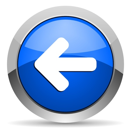 arrow left icon: arrow left icon Stock Photo