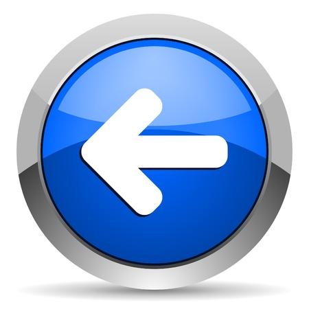 flecha direccion: flecha izquierda icono