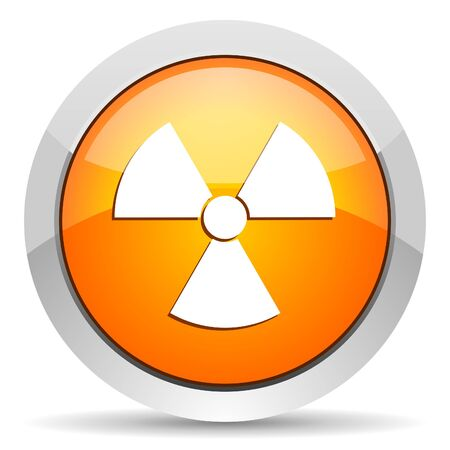 radiation icon Stock Photo - 16339459