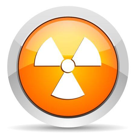 radiation icon Stock Photo - 16339459