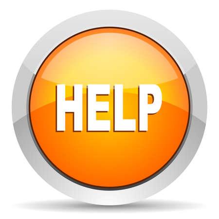 help icon: help icon  Stock Photo