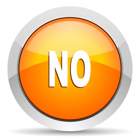 no icon Stock Photo - 16339445
