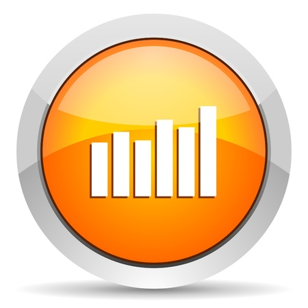 bar graph icon photo