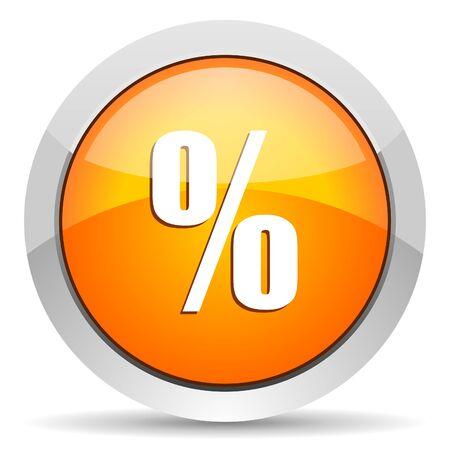 percent icon  photo