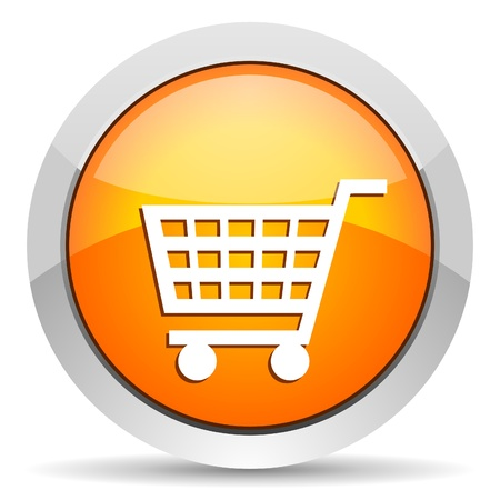 internet shopping: shopping cart icon
