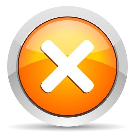cancel icon Stock Photo - 16339440