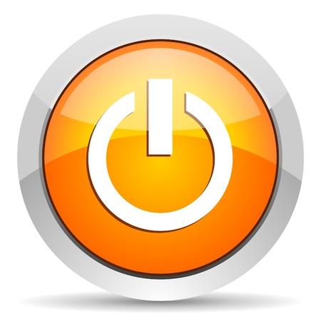 power icon Stock Photo - 16339339