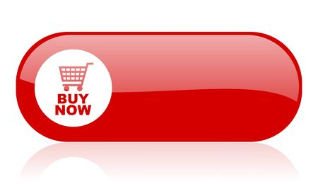 buy now red web glossy icon 