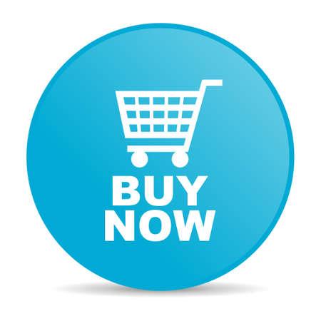 buy now blue circle web glossy icon  photo