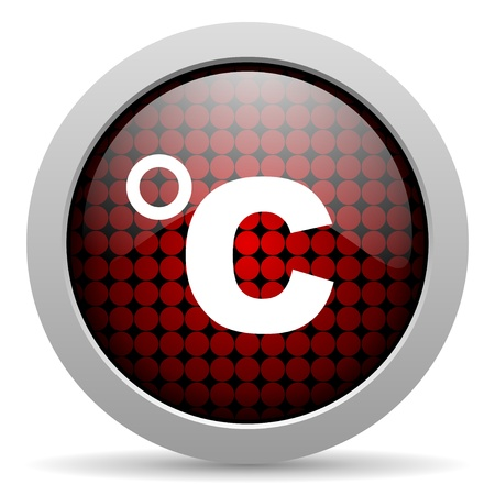 celsius: celsius glossy icon
