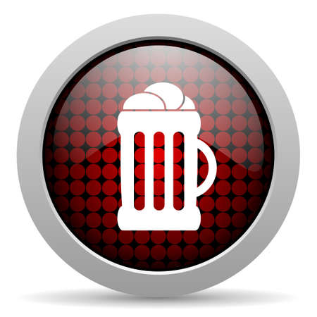 beer glossy icon  photo