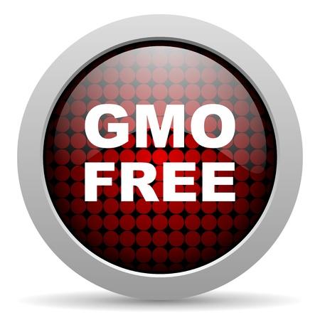 gmo: gmo free glossy icon