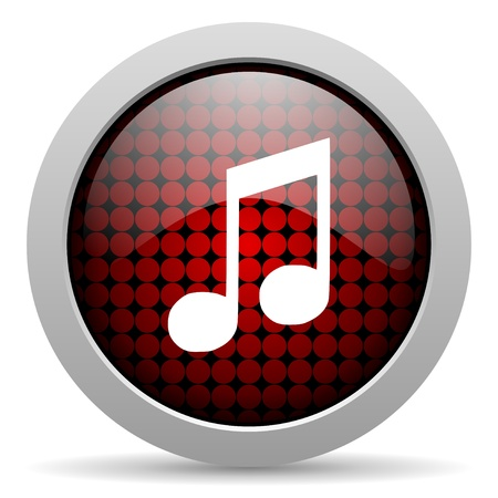 music glossy icon  photo