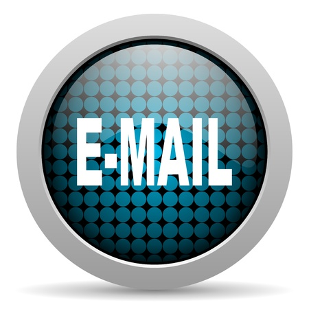 mail glossy icon  photo