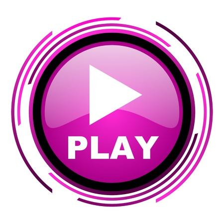 play icon Stock Photo - 20118454