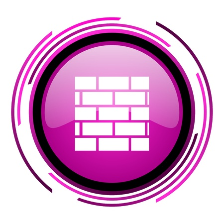 firewall icon  photo