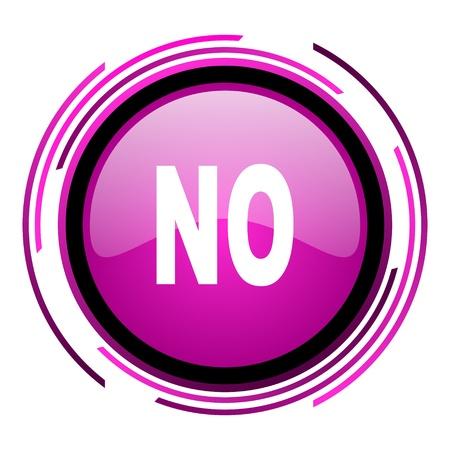 no icon Stock Photo - 20118382
