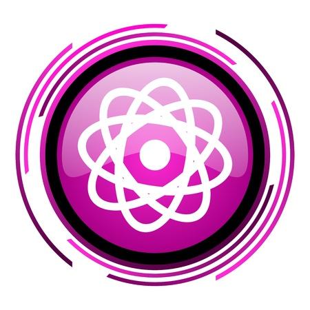 atom icon Stock Photo - 20118711