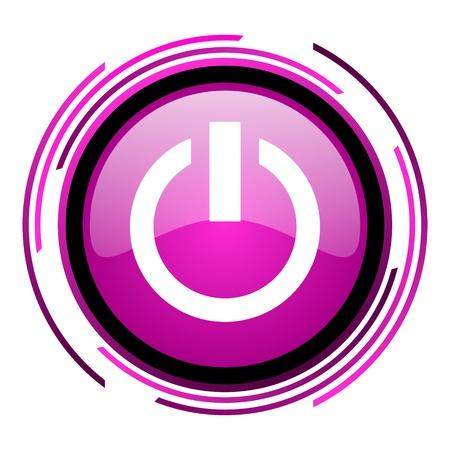 power icon Stock Photo - 20118465