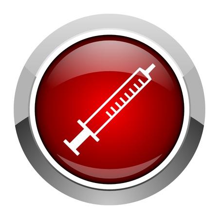 syringe icon  photo