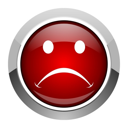 cry icon: cry icon  Stock Photo