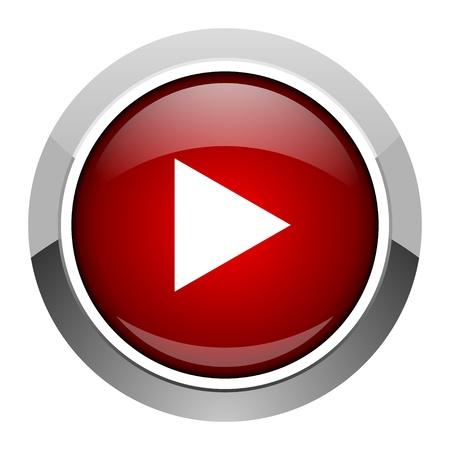 Play icon Standard-Bild - 20206772
