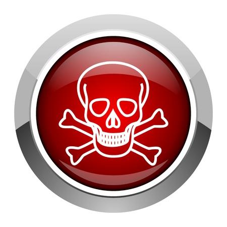 skull icon Stock Photo - 20207072