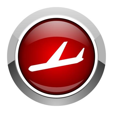 arrivals: arrivals icon Stock Photo