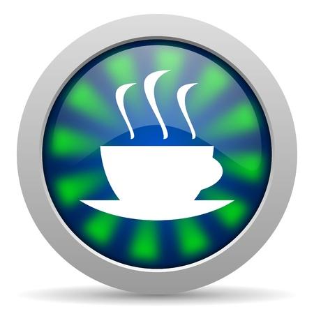 icono de caf� Foto de archivo - 20223497
