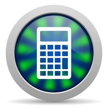calculator icon Stock Photo - 20223744