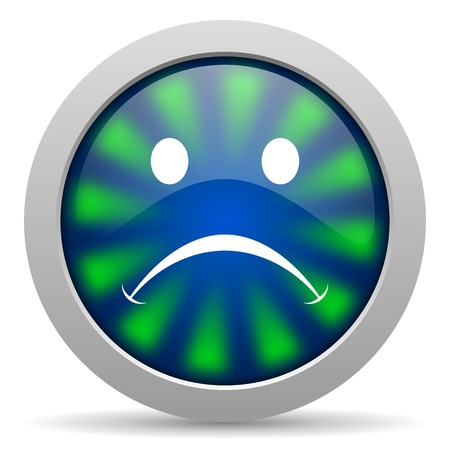 cry icon Stock Photo - 20223853