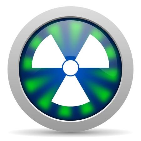radiation icon Stock Photo - 20223321