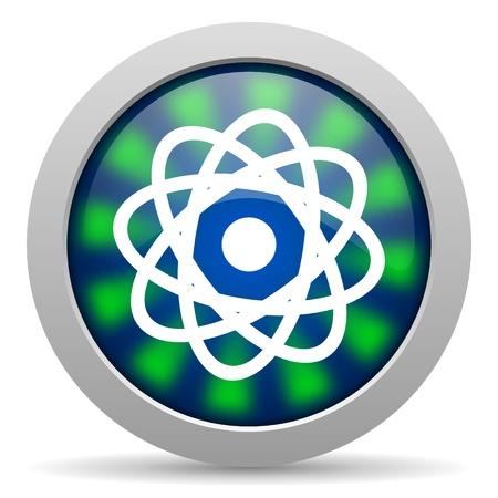 atom icon Stock Photo - 20224021