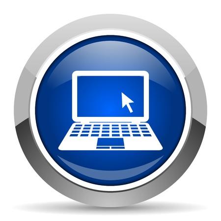 notebook icon Stock Photo - 20468886