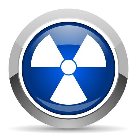 radiation icon Stock Photo - 20451838