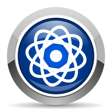 gamma radiation: atom icon