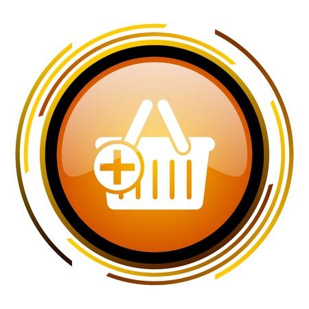 shopping cart icon Stock Photo - 20519555