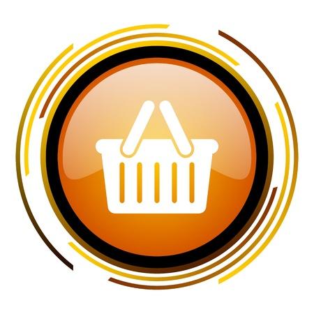 icon shopping cart: Einkaufswagen-Symbol