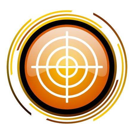 target icon Stock Photo - 20519804