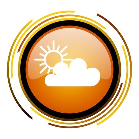 meteo: weather forecast icon   Stock Photo