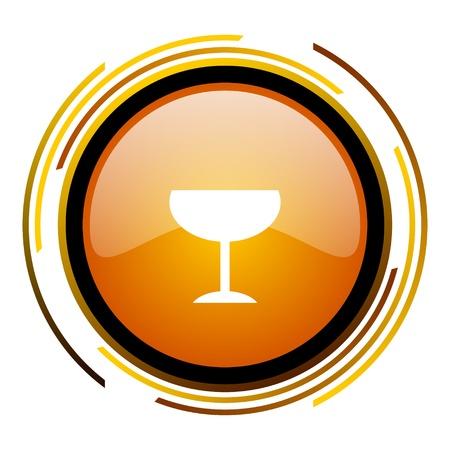 glass icon  photo